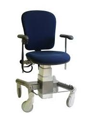 Bureaustoel Wieltjes Met Rem.Trippelstoel Met Rem Op 4 Wielen